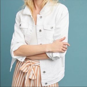 Anthropologie Pilcro And The Letter Denim Jacket